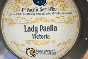 Ladypaella Semi Finalists Paella Competition