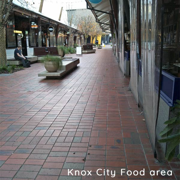 Knox City Food Area covid