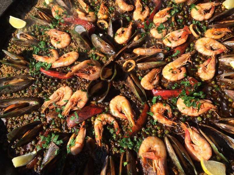 Ladypaella Seafood Paella